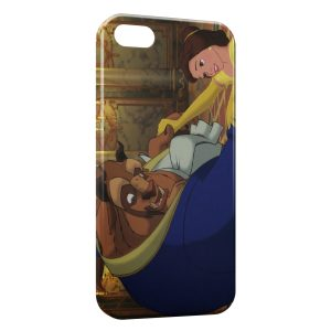 Coque iPhone 5C The Beauty and The Beasty Disney 3