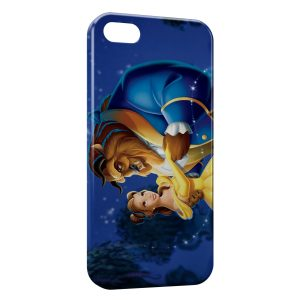 Coque iPhone 5C The Beauty and The beast Disney