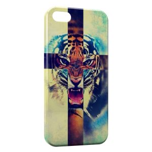 Coque iPhone 5C Tiger Rugissent