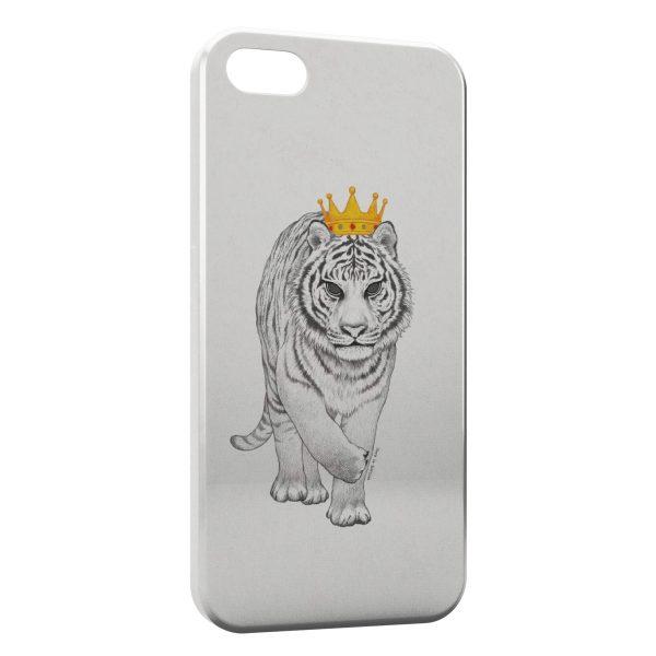 Coque iPhone 5C Tiger Tigre Style Design