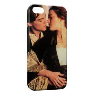 Coque iPhone 5C Titanic Leonardo Di Caprio Rose