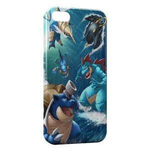 Coque iPhone 5C Tortank 2 Art Pokemon