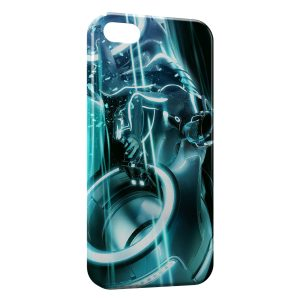 Coque iPhone 5C Tron Legacy Blue