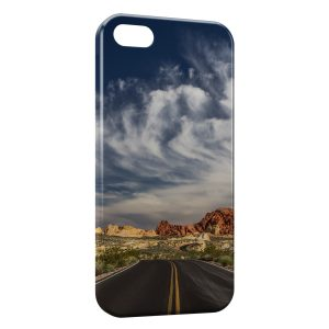 Coque iPhone 5C US road