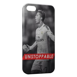 Coque iPhone 5C Unstoppable Football Cristiano Ronaldo