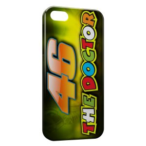 Coque iPhone 5C Valentino Rossi 46 Logo
