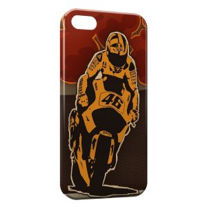 Coque iPhone 5C Valentino Rossi Moto Graphic Design