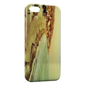 Coque iPhone 5C Vintage Beach