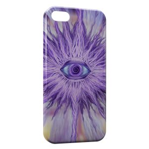 Coque iPhone 5C Violet Eye