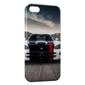 Coque iPhone 5C Viper voiture White & Black