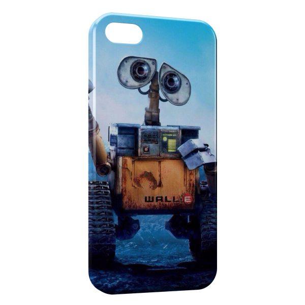 Coque iPhone 5C Wall-E Dessins animés