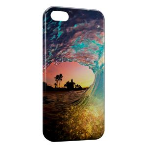 Coque iPhone 5C Wave and sand