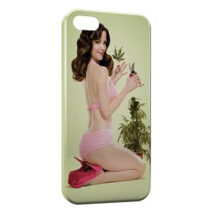 Coque iPhone 5C Weeds
