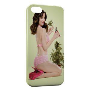 Coque iPhone 5C Weeds