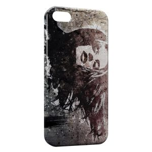 Coque iPhone 5C Woman graffiti