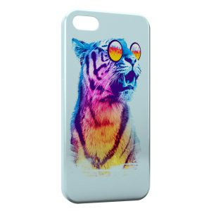 Coque iPhone 5C Wonderful Tiger