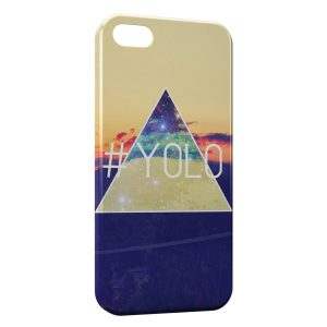 Coque iPhone 5C Yolo Pyramide