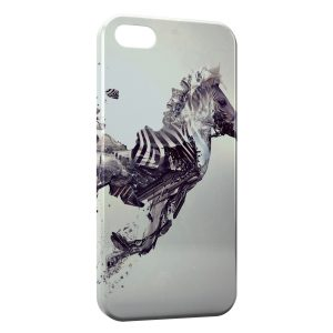Coque iPhone 5C Zebre Design