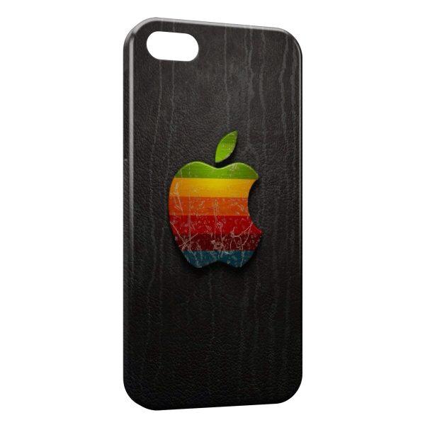 Coque iPhone 6 Plus & 6S Plus Apple Logo Multicolor