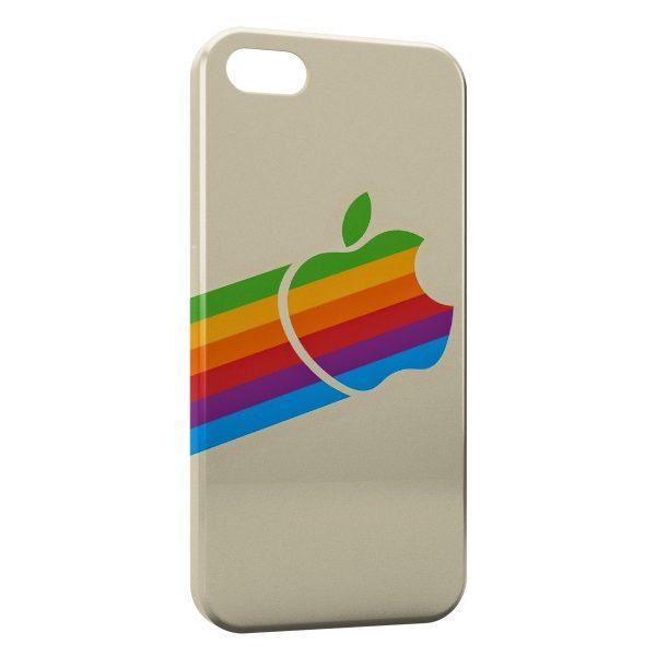 Coque iPhone 6 Plus & 6S Plus Apple Rainbow