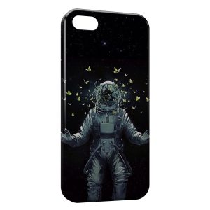 Coque iPhone 6 Plus & 6S Plus Astronaute et Papillons