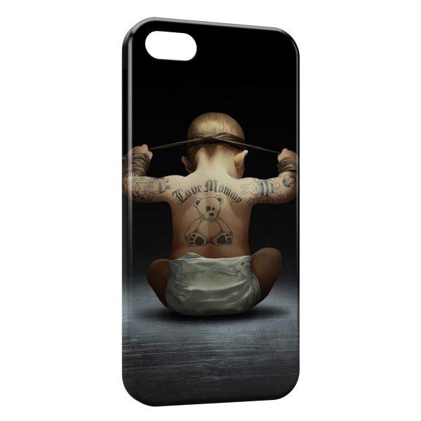 Coque iPhone 6 Plus & 6S Plus Bébé tatoué