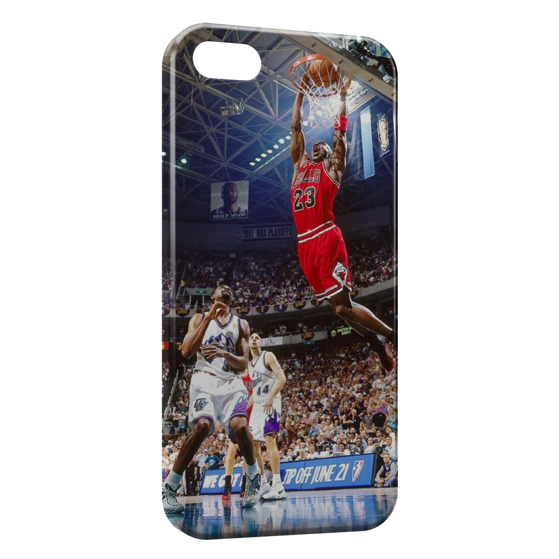 Coque iPhone 6 Plus 6S Plus Basketball Dunk Bulls