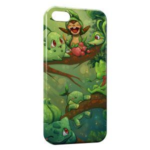 Coque iPhone 6 Plus & 6S Plus Bulbizarre Germignon Pokemon Herbe