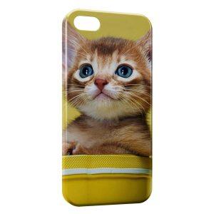 Coque iPhone 6 Plus & 6S Plus Chaton Jaune