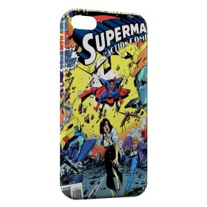 Coque iPhone 6 Plus & 6S Plus Comics Superman 2