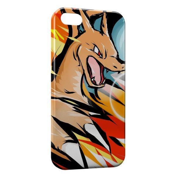 Coque iPhone 6 Plus & 6S Plus Dracaufeu Pokemon 2