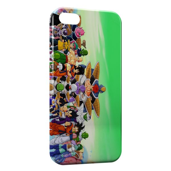 Coque iPhone 6 Plus & 6S Plus Dragon Ball Z Group 4