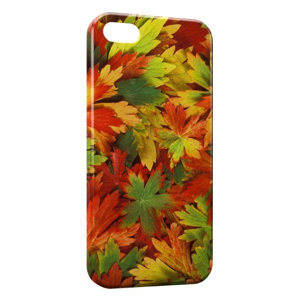Coque iPhone 6 Plus & 6S Plus Feuilles d'Automne