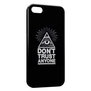 Coque iPhone 6 Plus & 6S Plus Illuminati Don't Trust Anyone