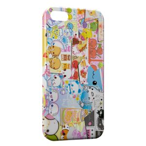 Coque iPhone 6 Plus & 6S Plus Kawaii Melting pot