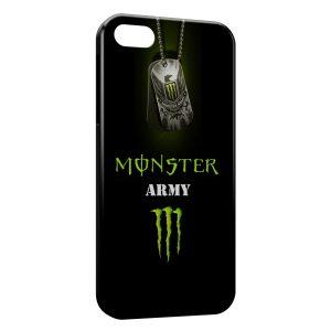 Coque iPhone 6 Plus & 6S Plus Monster Army Energy Logo Black