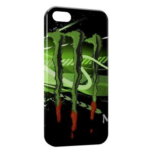 Coque iPhone 6 Plus & 6S Plus Monster Energy Green Art Blood