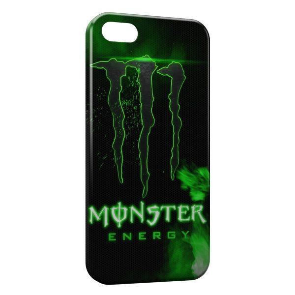 Coque iPhone 6 Plus & 6S Plus Monster Energy Green Style Design