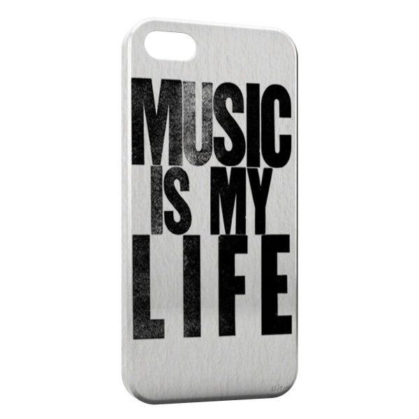 Coque iPhone 6 Plus & 6S Plus Music is My Life