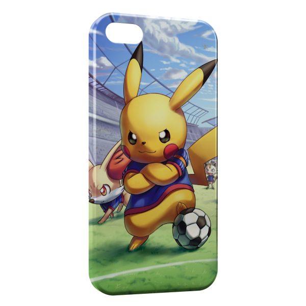 Coque iPhone 6 Plus 6S Plus Pikachu Football Pokemon 600x600