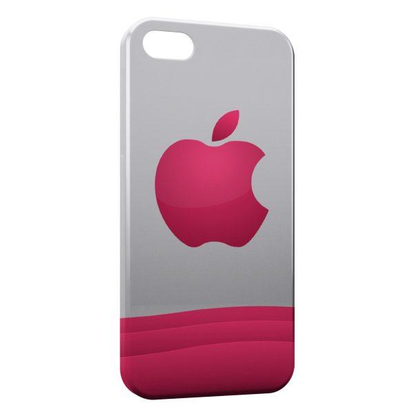 Coque iPhone 6 Plus & 6S Plus Pink Apple Logo