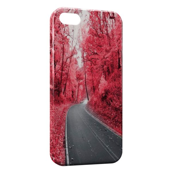 Coque iPhone 6 Plus & 6S Plus Road & Red Forest
