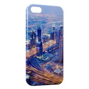 Coque iPhone 6 Plus & 6S Plus Road Speed at Night City