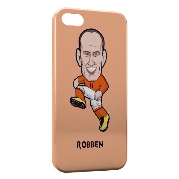 Coque iPhone 6 Plus & 6S Plus Robben Football