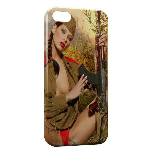 Coque iPhone 6 Plus & 6S Plus Sexy Girl Chasse 2
