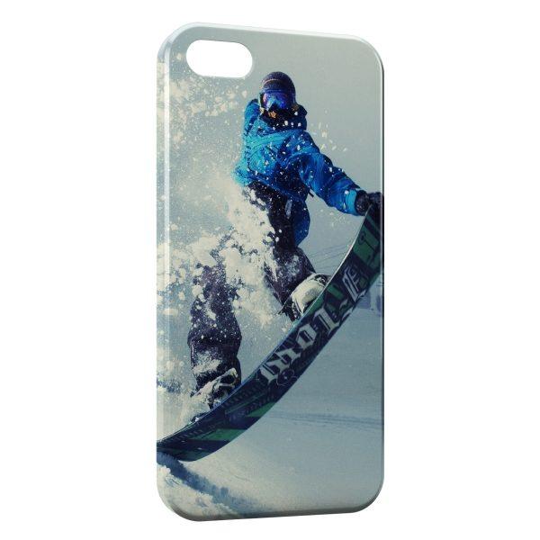 Coque iPhone 6 Plus & 6S Plus Snowboarding 2
