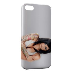 Coque iPhone 6 Plus & 6S Plus Tatouage Fille Sexy