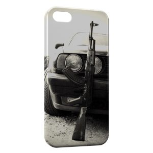 Coque iPhone 6 Plus & 6S Plus Voiture & AK47