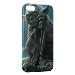 Coque iPhone 6 Plus & 6S Plus Yoda Star Wars 4 Sage