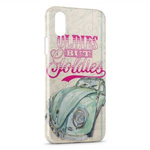 Coque iPhone X & XS 3D 2 CV Vintage